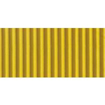 Ribkarton 50x70cm Geel