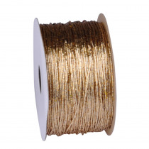 Elastiek 50m x 1mm Goud