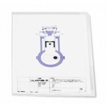 L-Map Pp Durable A4 Transparant Copy-Safe 10 Stuks
