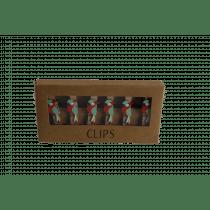 Clip Met Papegaai 4,5cm 6 Stuks