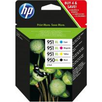 HP Inktcartridge 950XL/951XL Zwart+Tricolor