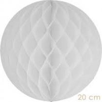 Honeycomb Bol Wit 30cm