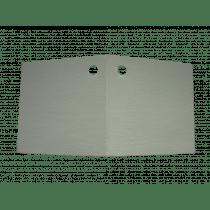 Naamkaartje 4X4Cm Wit Dubbel 48 Stuks