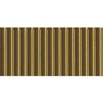 Ribkarton 50x70cm Goud