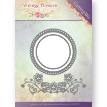 Snijmal Jeanine'S Art Vintage Flowers