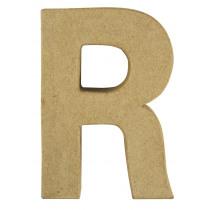 Letter Papiermache R 10,5x3x15cm
