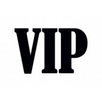 Houten Stempel VIP 26x36mm