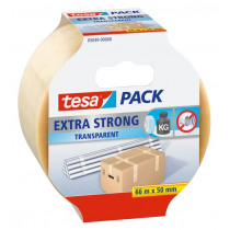 Tesa Packaging 66mx50mm Pvc Extra Strong Transparant