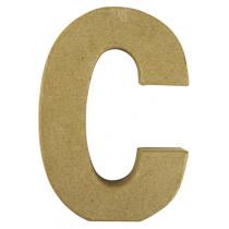 Letter Papiermache C 10,5x3x15cm