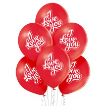Ballon Petit Rouge 30cm Diamètre