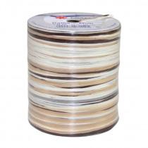 Raffia 5-Kleuren 50m Bruin/Wit/Crème