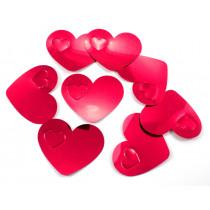 Coeur Confetti Rouge XL