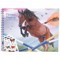 Horses Dreams Tekenboek