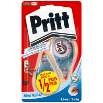 Correctie 4,2Mm Pritt Mini 2E 1/2 Prijs