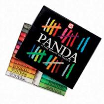Talens Oliekrijtjes Kleuren Panda Vet 24 stuks