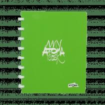 Atoma My Atoma Schrift 210x165mm 72 Bladzijden Geruit