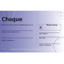 Eurocheque Groot 50x33cm