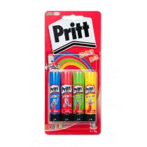 Lijmstift Pritt Rainbow 4X10Gr