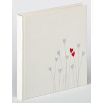 Fotoalbum 28x30,5cm Wit Bleeding Heart
