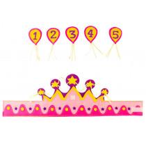 Verjaardagskroon Meisje 1 tot 5 Jaar