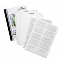 Congresspeldenset Pack + Etiketten 54X90Mm Durable Speld 20 Stuks