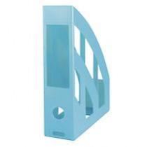 Tijdschriftenhouder Herlitz Transparant Turquoise