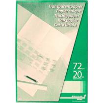 Kalkpapier 72G Ca20 A4 20Bl