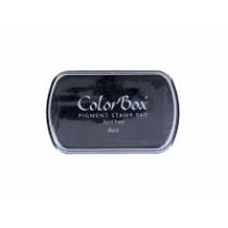 Inktkussen Colorbox Zwart 63x100mm