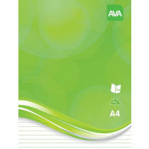 Cursusblok Ava Notes A4 Gelijnd