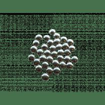 Vanparys Mini Confetti Zilver Metaallook 195g
