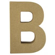 Letter Papiermache B 10,5x3x15cm
