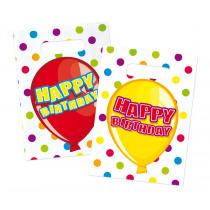 Happy Birthday Uitdeelzakjes 6 Stuks