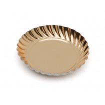 Party Dishes Goud 88mm Diameter Rond 100 Stuks