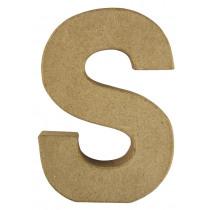 Letter Papiermache S 10,5x3x15cm