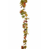 Slinger Esdoornbladeren 180cm Groen/Geel