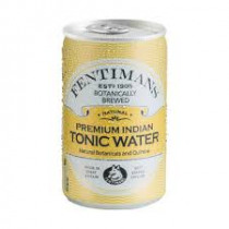 Blikje Fentimans Tonic 150ml 88mm Geel 53mm Diameter Premium Indian