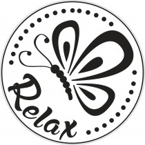 Label Relax 45mm Diam