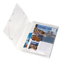 Documentbox Herlitz Transparant 4cm Rug