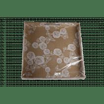 Dienblad 34x34x4cm Wit Bloem-Vlinder