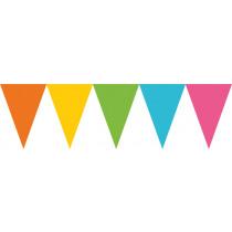 Vlaggenlijn 4,5m x 24,5cm Multicolor