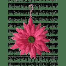 Hangdeco Bloem Fuchsia 22cm Diameter Papier