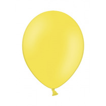 Ballon Pastel 27cm Geel 50 Stuks