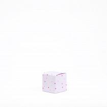 Kubus 5x5x5cm Roze Konijn 10 Stuks