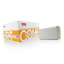 Vouwhanddoeken 23x25cm Satino Groen Comfort 3200 Stuks