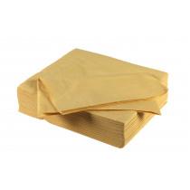FIESTA cocktail servet uni papier 25x25cm 50stuks