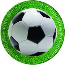 BORDJES 23cm FOOTBALL PARTY 8stuks