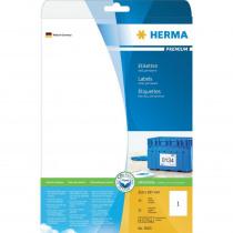 Etiketten 210x297mm Herma A4 25 Vellen