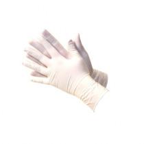 Handschoenen Latex L 100 Stuks Wit Gepoederd