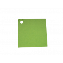 Naamkaartje 4X4Cm Lime 50 Stuks