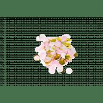Tafelconfetti Mix 2,5cm Diameter - 40g Wit-Roos-Goud
